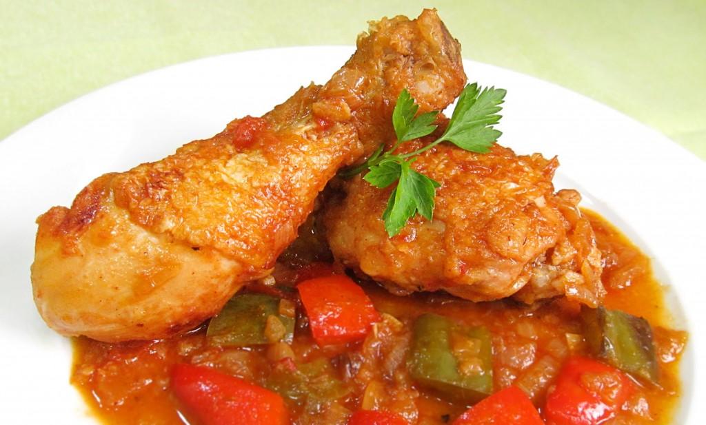 pollo al chilindrón aragón
