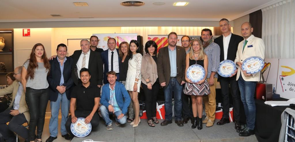 asociación cocineros aragón reconocimientos 2016